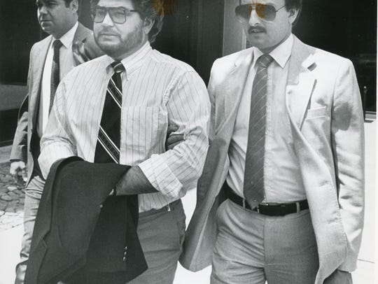 David Ray was serving as Claiborne County General Sessions judge when a federal grand jury indicted him on charges of taking payoffs for gambling machines in May 1986. He denied the charges, and a jury found him not guilty.