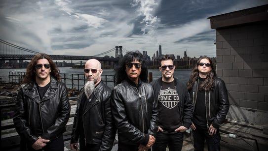 Thrash-metal pioneers Anthrax will perform Thursday
