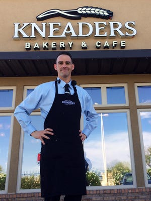 Josh Tycksen is owner and operator of Kneaders Bakery & Cafe in Ahwatukee that opened in late February. Two other locations are in Gilbert.