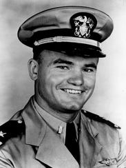 Nile Kinnick, shown in military uniform in this undated