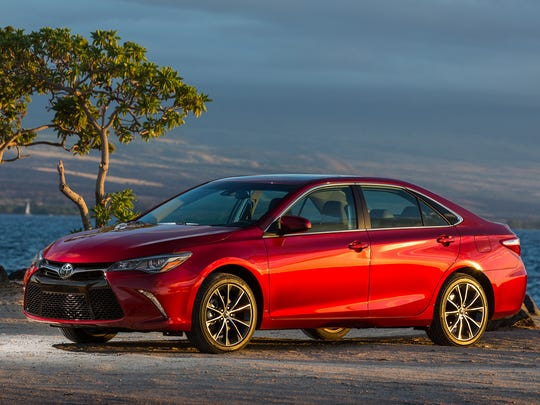 This photo provided by Toyota shows the 2017 Toyota