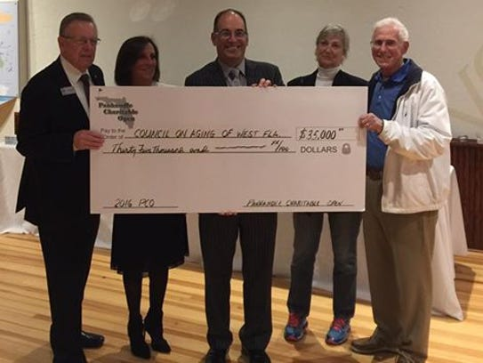 The Panhandle Charitable Open was able to donate $210,000
