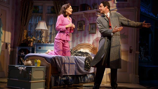 """Laura Benanti and Zachary Levi star in the Roundabout Theatre Company's revival of """"She Loves Me,"""" which will be streamed live by BroadwayHD on June 30, the first Broadway show to be live streamed."""