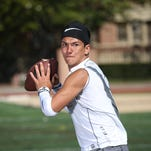 Aquinas junior quarterback Jake Zembiec has given a verbal commitment to Penn State to play football.