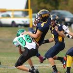 Action from the Seton at Harpursville varsity football game