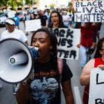 14 Photos: Black Lives Matter Rally in Des Moines