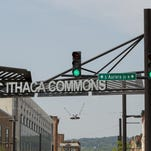 The Ithaca Commons.