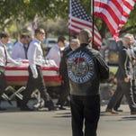 Visalia says goodbye to fallen soldier