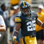 Iowa Hawkeyes star Akrum Wadley savors captain's role, downplays matchup vs. Saquon Barkley