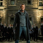 "Aaron Eckhart appears in a scene from ""I, Frankenstein."""