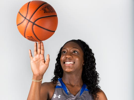 Winter Player of the Year finalist Brittany Holmes, Barron Collier basketball
