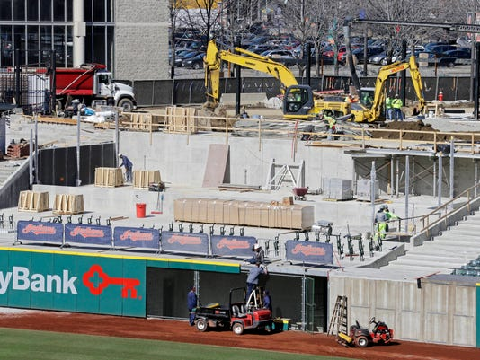 Indians Ballpark Renovation Baseball