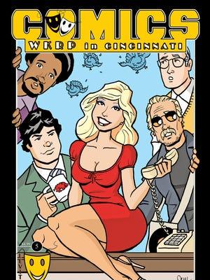 "Levity Biographies' ""WKRP in Cincinnati"" comic book written by Fairfield Township resident Chad Lambert."