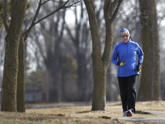 Roddie Larsen of Menasha is an 80-year-old who still