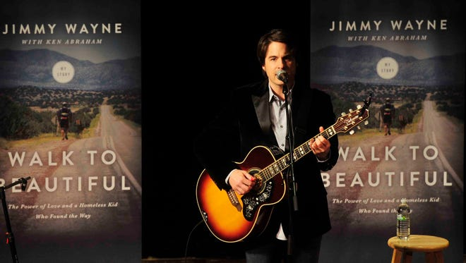 Jimmy Wayne will play this weekend in Opry at the Ryman.