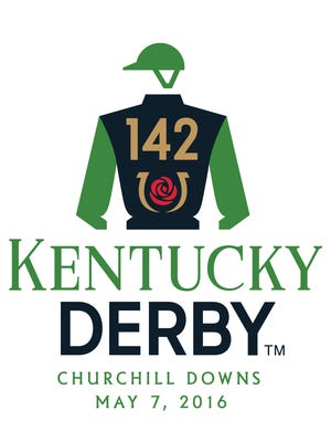2016 Kentucky Derby logo.