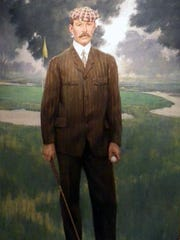Donald Ross not only designed courses but he played the game well and he made clubs.