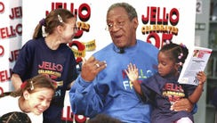 Bill Cosby, marking 25 years as pitchman for Jell-O