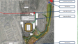 A rendering shows the location of a proposed Major