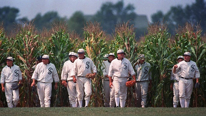 Field of Dreams' getting real game  Add events at these