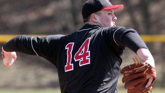 Woodbridge baseball hosts JFK, Monday, April 6, 2015, in Woodbridge, NJ.