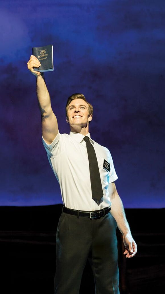 "The Broadway musical ""The Book of Mormon"" begins a week-long run at the Plaza Theatre on Nov. 10."
