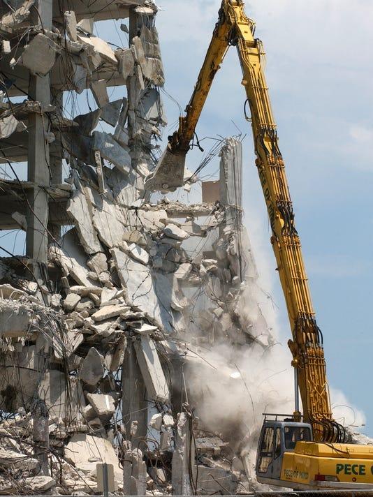 Ramada demolition