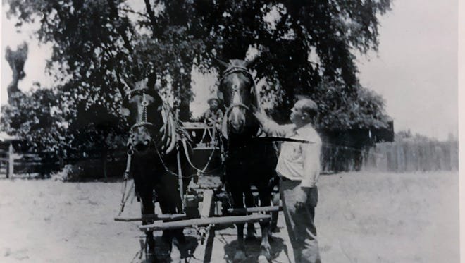 Jack and Jeff Transfer Co. has been around for 100 years. It started with two horses and a wagon.