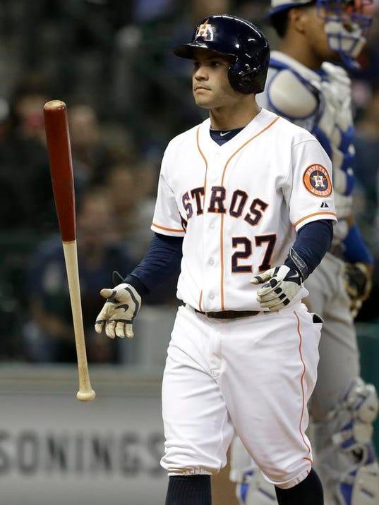 Royals Astros Baseball