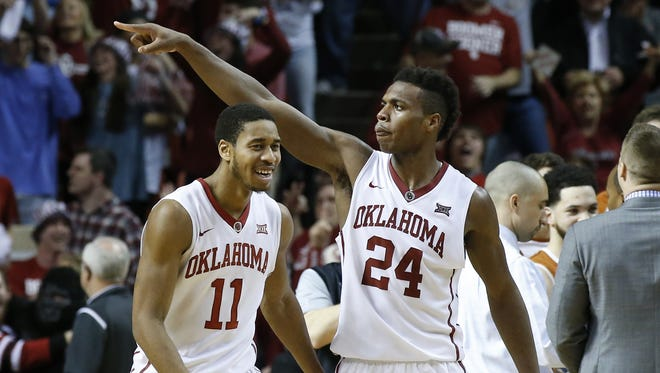 Oklahoma's Buddy Hield, right, is a joy to watch, but that's not necessarily the case for the rest of college basketball this season.