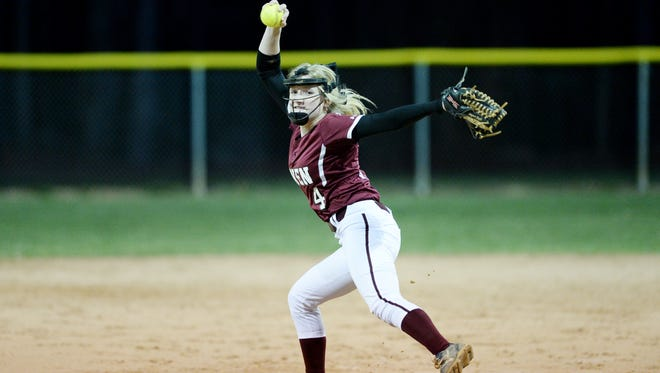 Jaiden Tweed and Owen opened their softball season Friday with a 5-3 win at Reynolds.