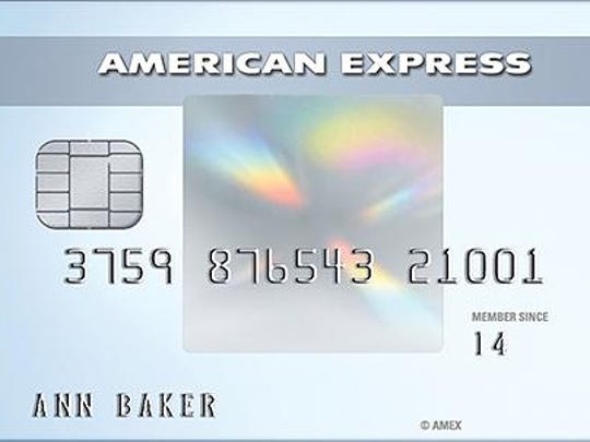 Cards with fraud-resistant chips can be identified by a silver or gold rectangular design featuring a hologram.