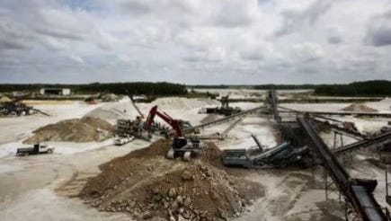 Lime rock mining in Bonita Springs can be seen in this file photo. The public may soon have less say in future rock mine operations.