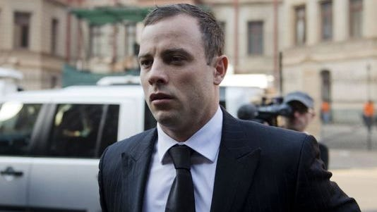 Oscar Pistorius arrives at court in Pretoria, South Africa, on June 30.