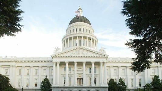 California State Capitol in Sacramento.