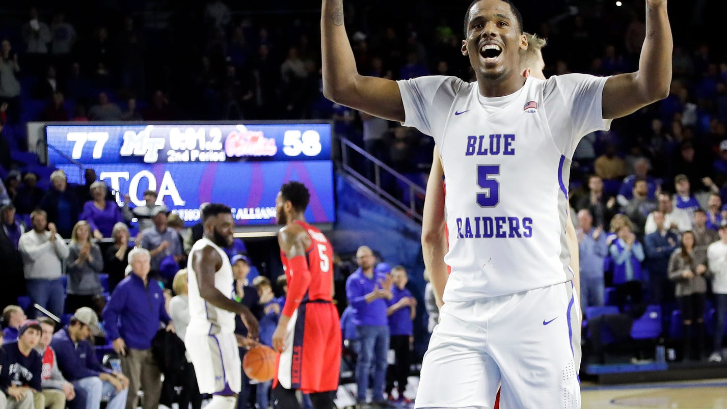 TOP 25 THIS WEEK: Blue Raiders play with 1st AP ranking