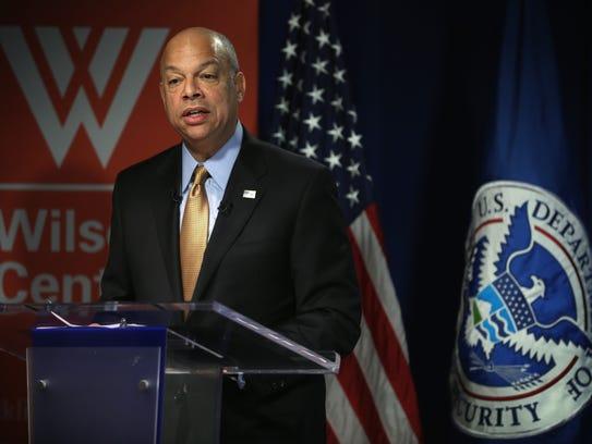 U.S. Homeland Security Secretary Jeh Johnson.