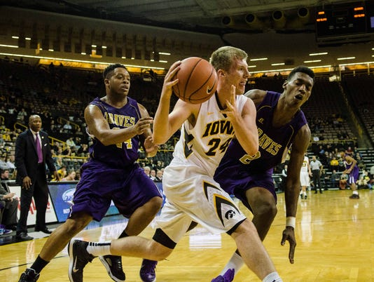 NCAA Basketball: Alcorn State at Iowa
