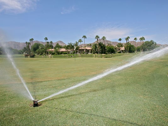 Sprinkler at Rancho La Quinta