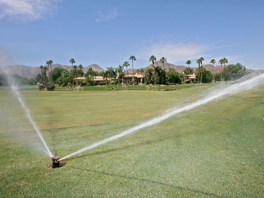 Sprinkler at Rancho La Quinta
