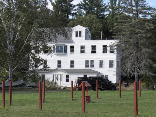This file photo shows the home of Nathan Carman in