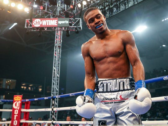 Errol Spence Jr. will fight Shawn Porter on Saturday night in Los Angeles.