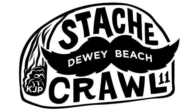 The Stache Crawl in Dewey Beach honors Kellen Poultney and raises money to help those in need.