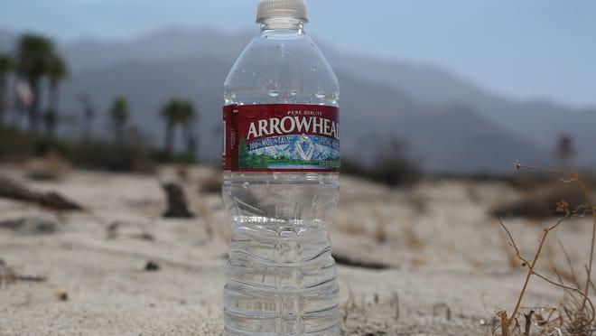 Arrowhead water bottle for Water Bottling Story