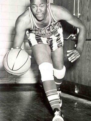"Freeport's McKinley ""Deacon"" Davis later played for the Harlem GlobeTrotters."