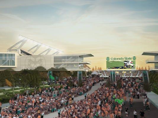 CSU Stadium renderings