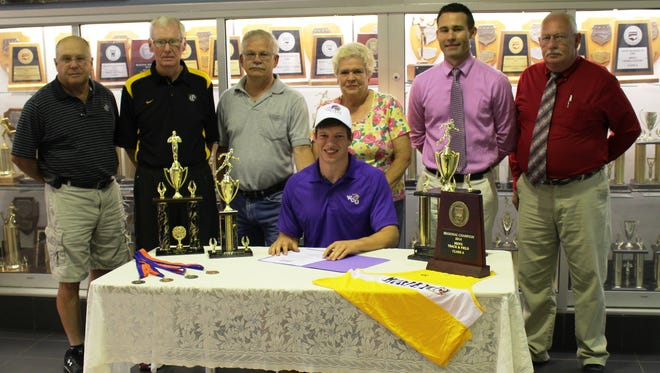 Murphy senior Robbie Tompa has signed to run college track for Western Carolina University.