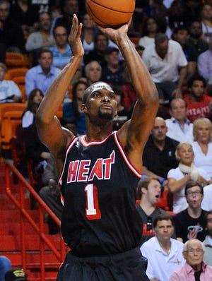 Miami Heat's Chris Bosh likes the idea of using technology to gain an edge.