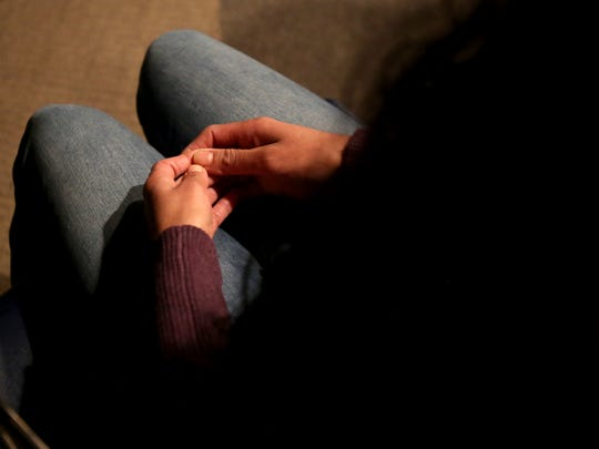 A human trafficking victim in New York.