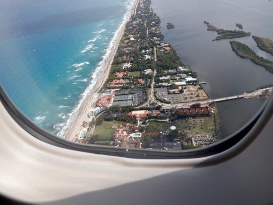 The Mar-a-Lago resort in Palm Beach, Fla., is seen